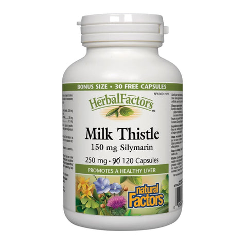 Milk Thistle 250 mg - 120 capsules