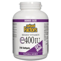 Mixed Vitamin E 400 iu - 210 softgels