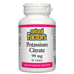 Potassium Citrate 99 mg - 90 tablets