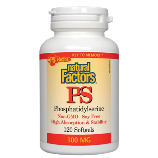 PS Phosphatidylserine 100 mg - 120 softgels