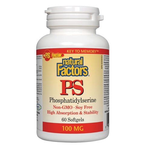 PS Phosphatidylserine 100 mg - 60 softgels