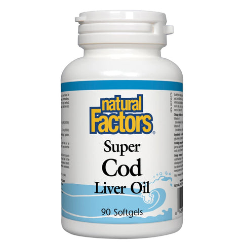 Super Cod Liver Oil - 90 softgels