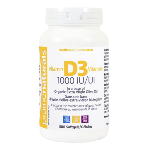 Vitamin D 1 000 i.u. - 500 softgels