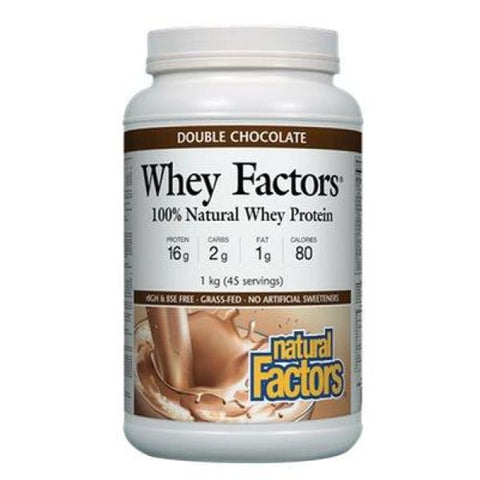 Whey Factors - 1 kg / Double Chocolate