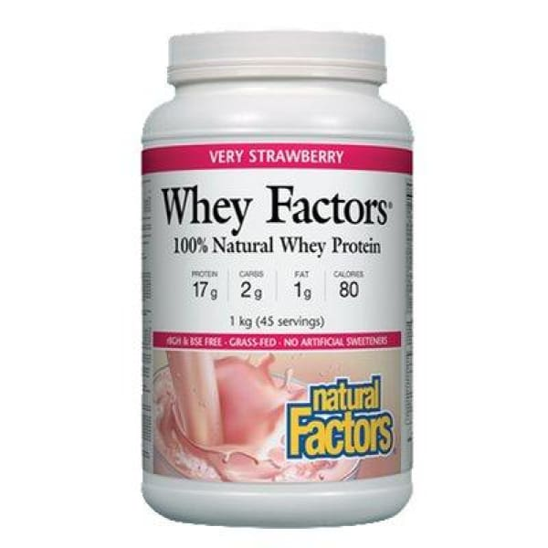 Whey Factors - 1 kg / Very Strawberry