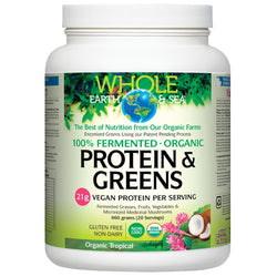 Whole Earth & Sea Fermented Protein & Greens - Chocolate