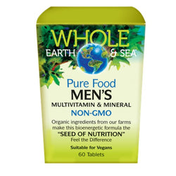Whole Earth & Sea Multivitamin & Mineral - Mens Formula 60 tablets