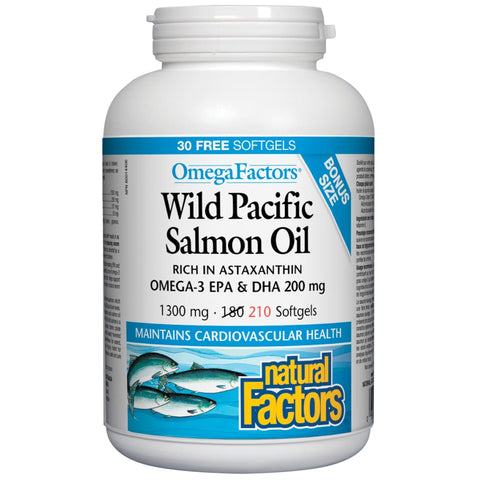 Wild Pacific Salmon Oil - 210 softgels