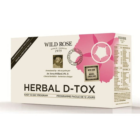 Wildrose Herbal Detox Kit - 12 Day Kit
