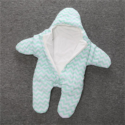 Image of Baby Star Snuggle Suit - Looks So Cute!