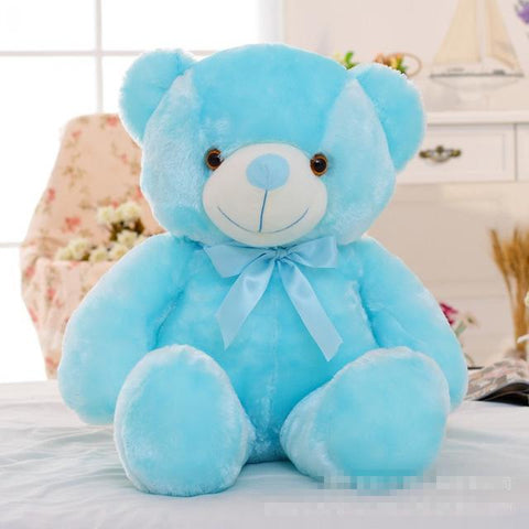 Big Colourful Glowing Teddy Bear