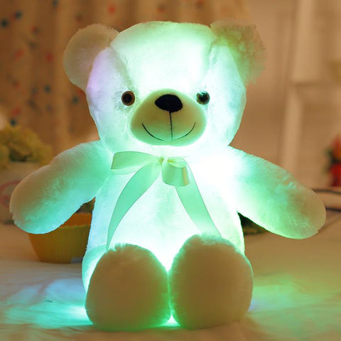 Image of Big Colourful Glowing Teddy Bear
