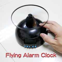 Creative Flying Alarm Clock