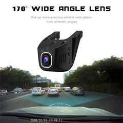 DVR Dash Cam - 1080P WiFi