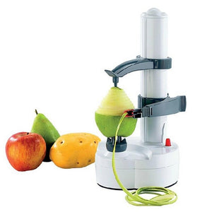 Electric Fruit and Vegetable Spiral Peeler