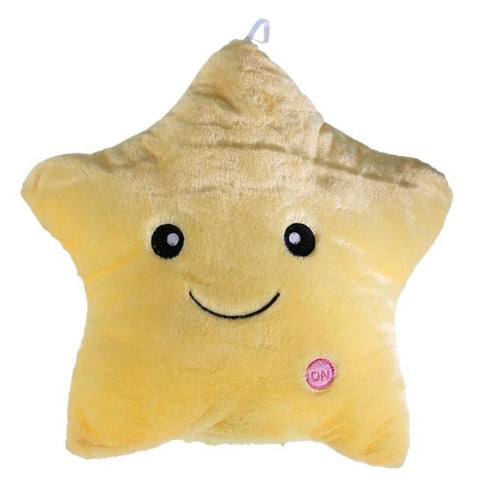 Luminous Soft Plush Pillows - LED Star Pillows