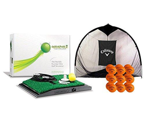 Image of OPTISHOT 2 GOLF IN A BOX SIMULATOR PACKAGE