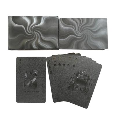 Playing Cards - Black Waterproof Playing Cards