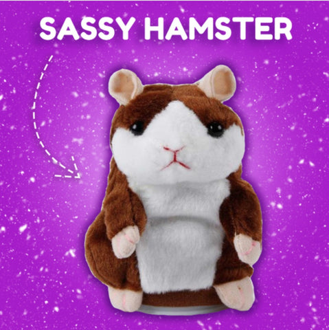 Sassy Hamster - Repeats What It Hears!!!
