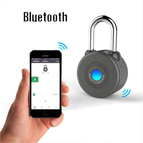 Smart Bluetooth Padlock - Uses APP On IPhones & Android