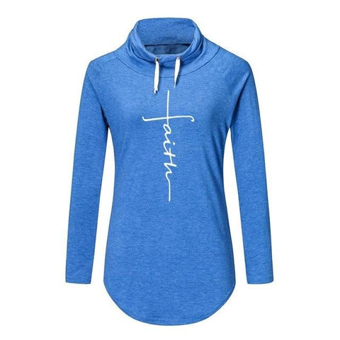 Image of Sweatshirt - Faith Casual Pullovers