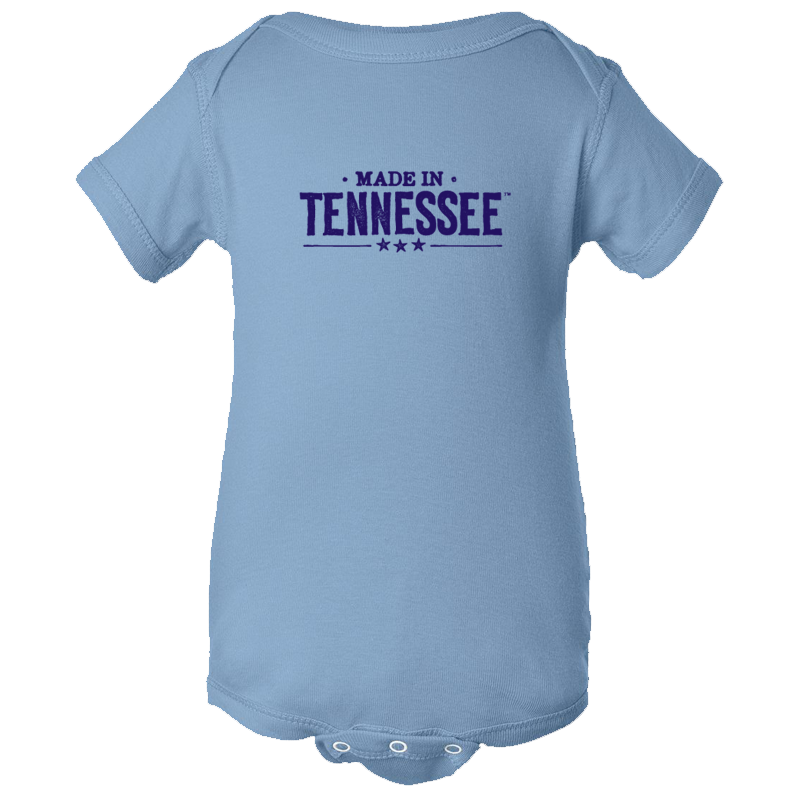 Made in Tennessee Onesie - Light Blue