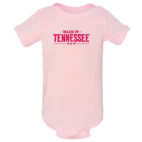 Made in Tennessee Onesie - Ballerina Pink