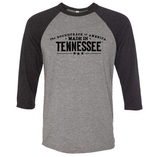 The Soundtrack of America Made in Tennessee Raglan
