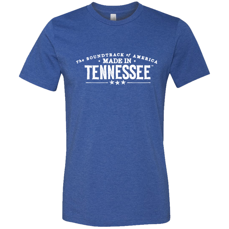 The Soundtrack of America Made in Tennessee T-Shirt - Royal Blue