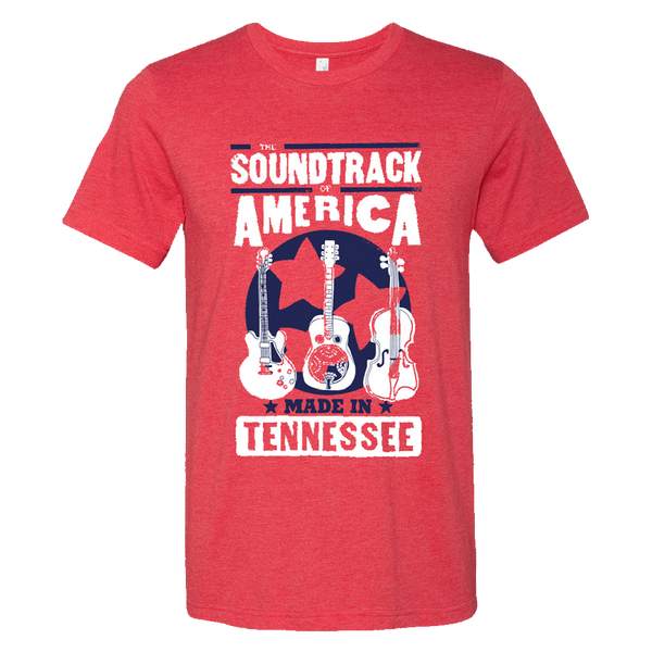 The Soundtrack of America Made in Tennessee Hatch Show T-Shirt