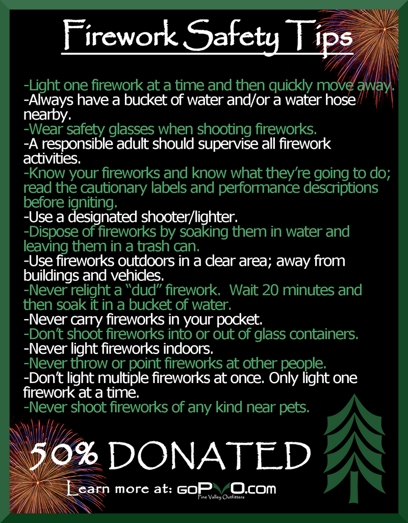 Firework Dos and Don'ts