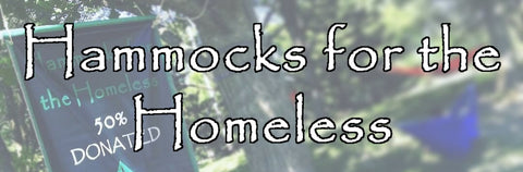 Hammocks for the Homeless