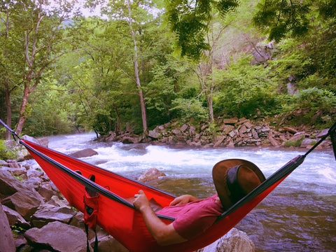 Red PVO Hammock