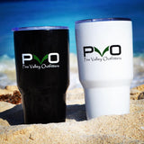 PVO Tumbler on the beach