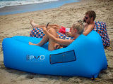 Light Blue PVO Air Hammock Inflatable Lounger