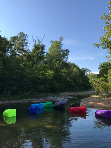 PVO Air Hammocks on River