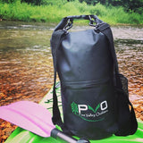 PVO Dry Bag on Kayak
