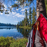 Red PVO Hammock on Lake Tahoe