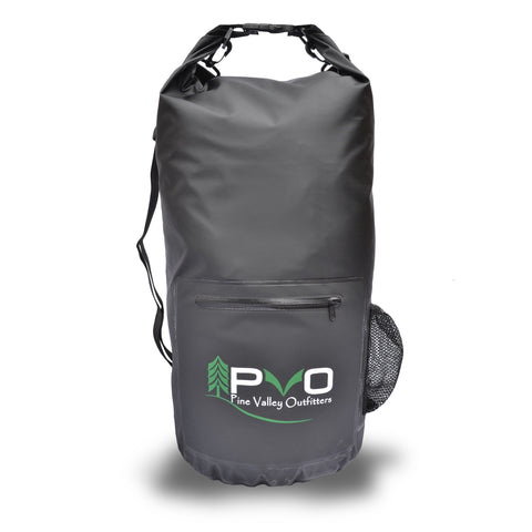 3ee8b350b98e 20L PVO Dry Bag. PVO Dry Bag on Kayak. Pine Valley Dry Bag Specs. Premium  Waterproof Dry Bag with Adjustable Shoulder Straps ...