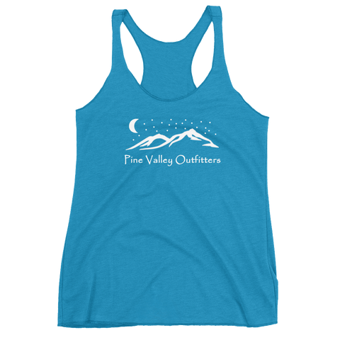 Starry Mountain Racerback Tank