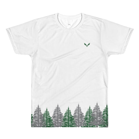 PVO Tree-Shirt (Green/Gray)