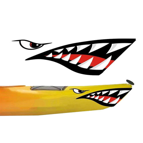 Waterproof Shark Teeth Stickers