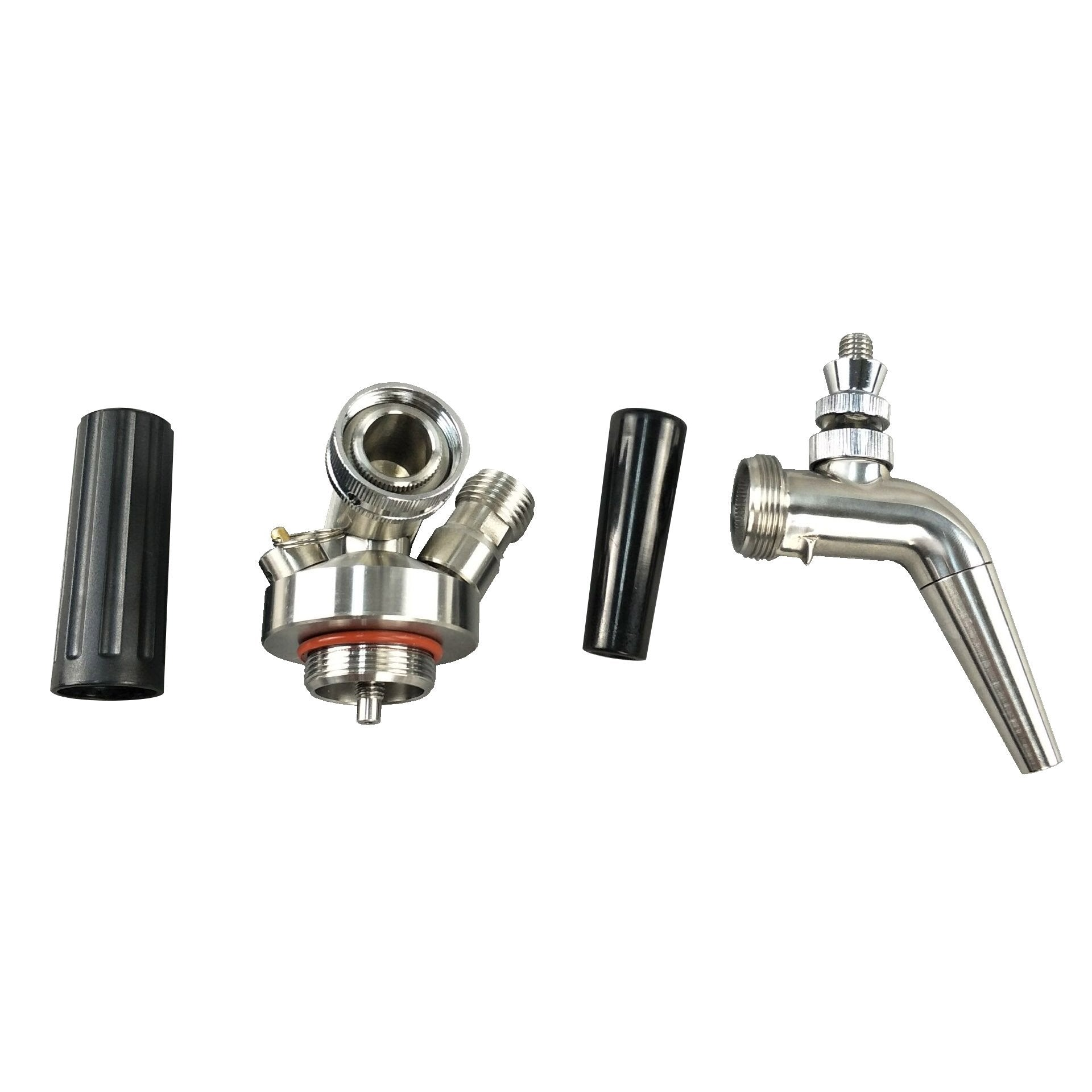 Nitrogen upgrade kit with stout faucet - Keg Smiths - Premium Draft Kegs & Accessories
