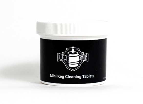 Growler Mini Keg Cleaning Tablets