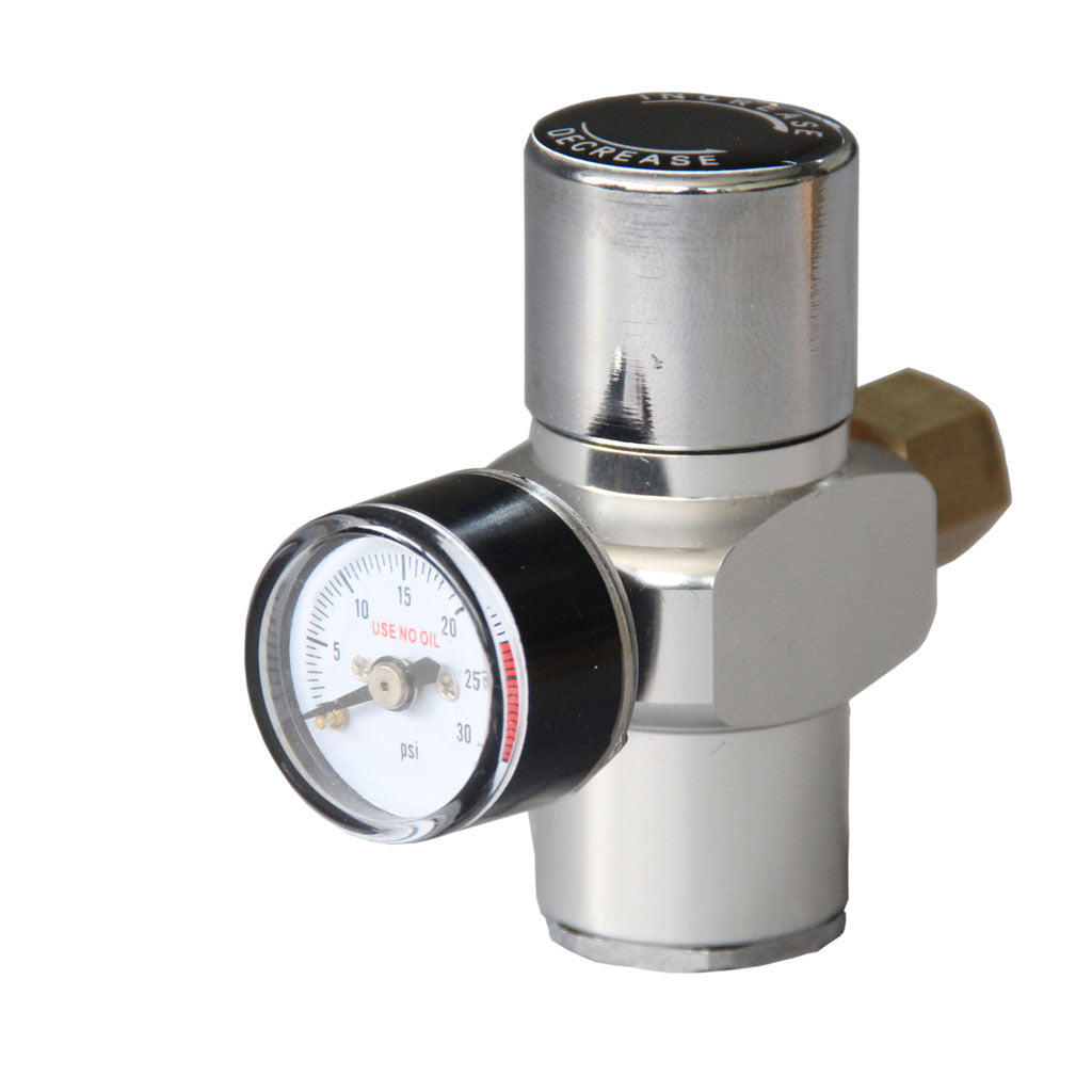 Co2 regulator stainless steel  low pressure guage