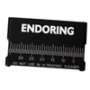 EndoRing® Metal Ruler Reduced Glare - Jordco