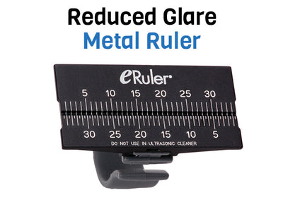 e-Ruler® Endodontic File Reduced Glare Measuring Ruler