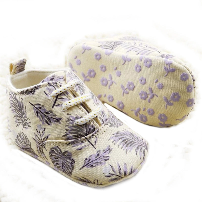 Feather Shoes - lavender