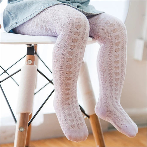 Lace Heart Stockings