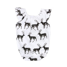 Stompin Stag Ruffles Romper